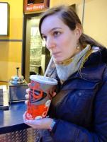Eine grosse Cola (1l)