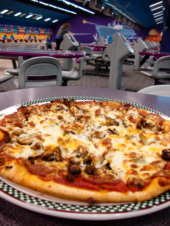 Pizza in the Bowling