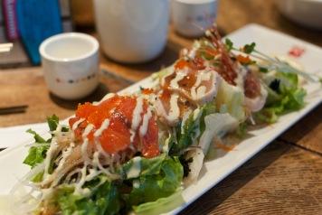 Sashimi salat